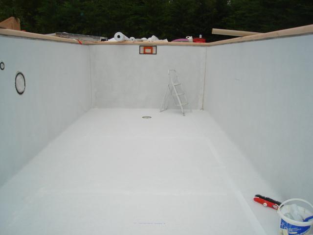 R novation gel coat r novation rev tement piscine for Reparation liner piscine sous l eau